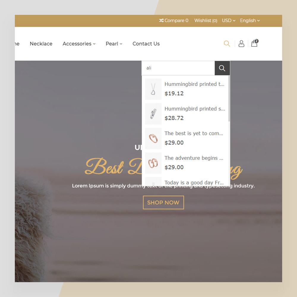 theme - Bellezza & Gioielli - Emerald Jewelry - Jewellery & Accessories Template - 9