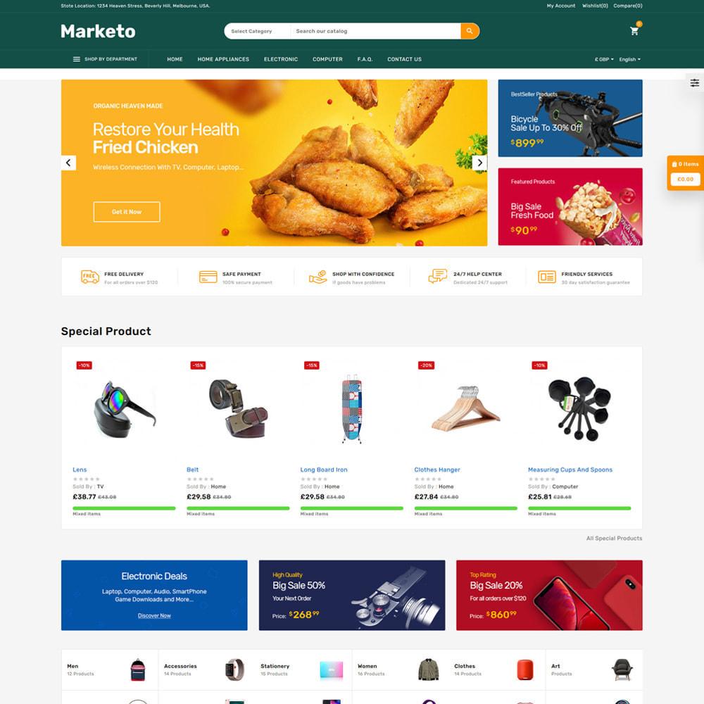 theme - Electronique & High Tech - Marketo Mega Store - 2