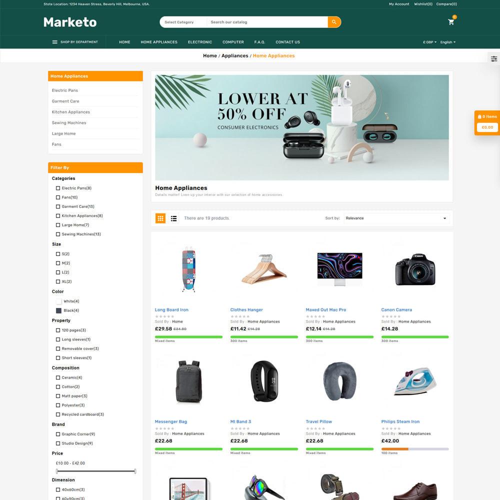 theme - Electronique & High Tech - Marketo Mega Store - 3