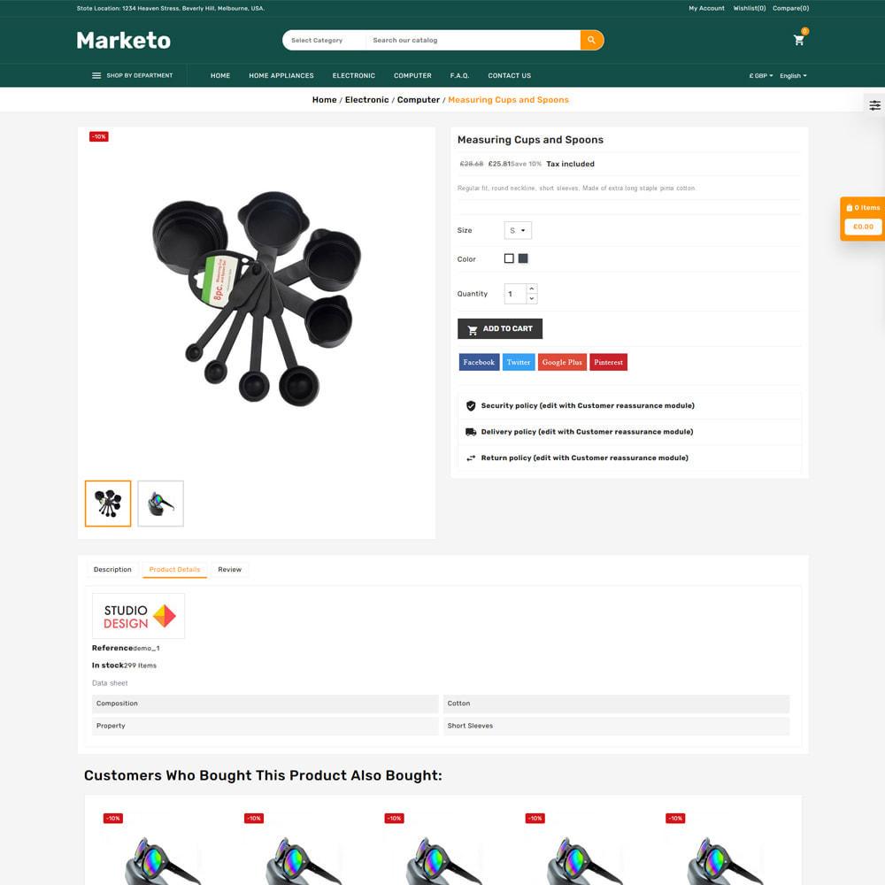 theme - Electronique & High Tech - Marketo Mega Store - 5