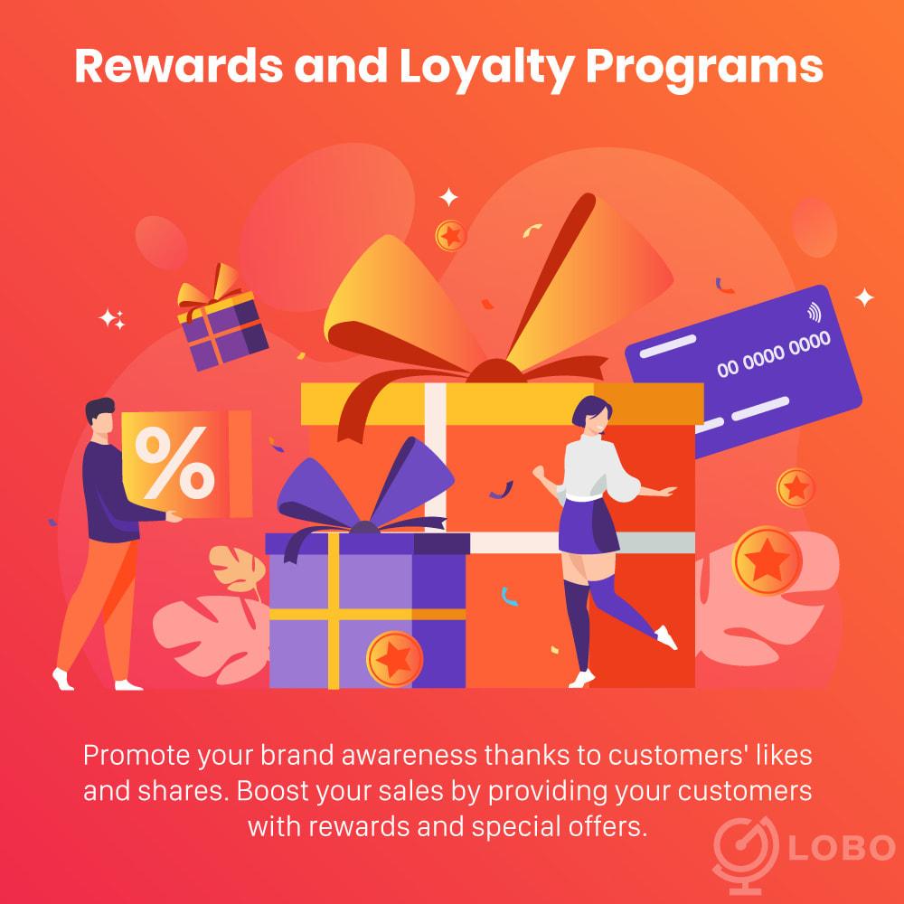 module - Referral & Loyalty Programs - 3in1 Reward point: loyalty, referral, affiliate program - 2