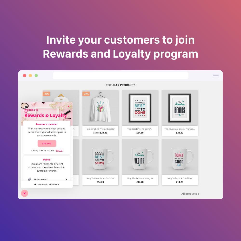 module - Referral & Loyalty Programs - 3in1 Reward point: loyalty, referral, affiliate program - 13