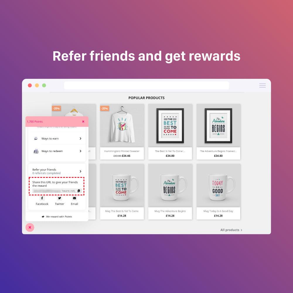 module - Referral & Loyalty Programs - 3in1 Reward point: loyalty, referral, affiliate program - 15