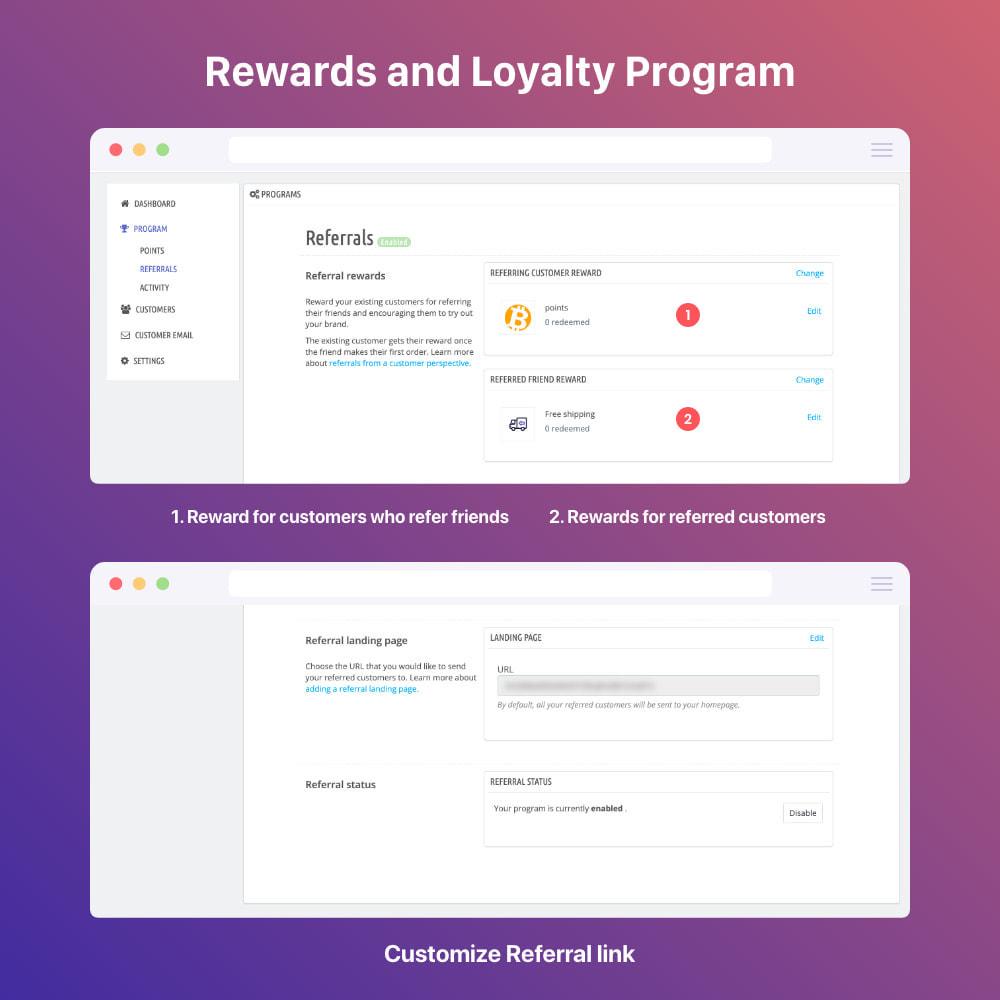 module - Referral & Loyalty Programs - 3in1 Reward point: loyalty, referral, affiliate program - 18