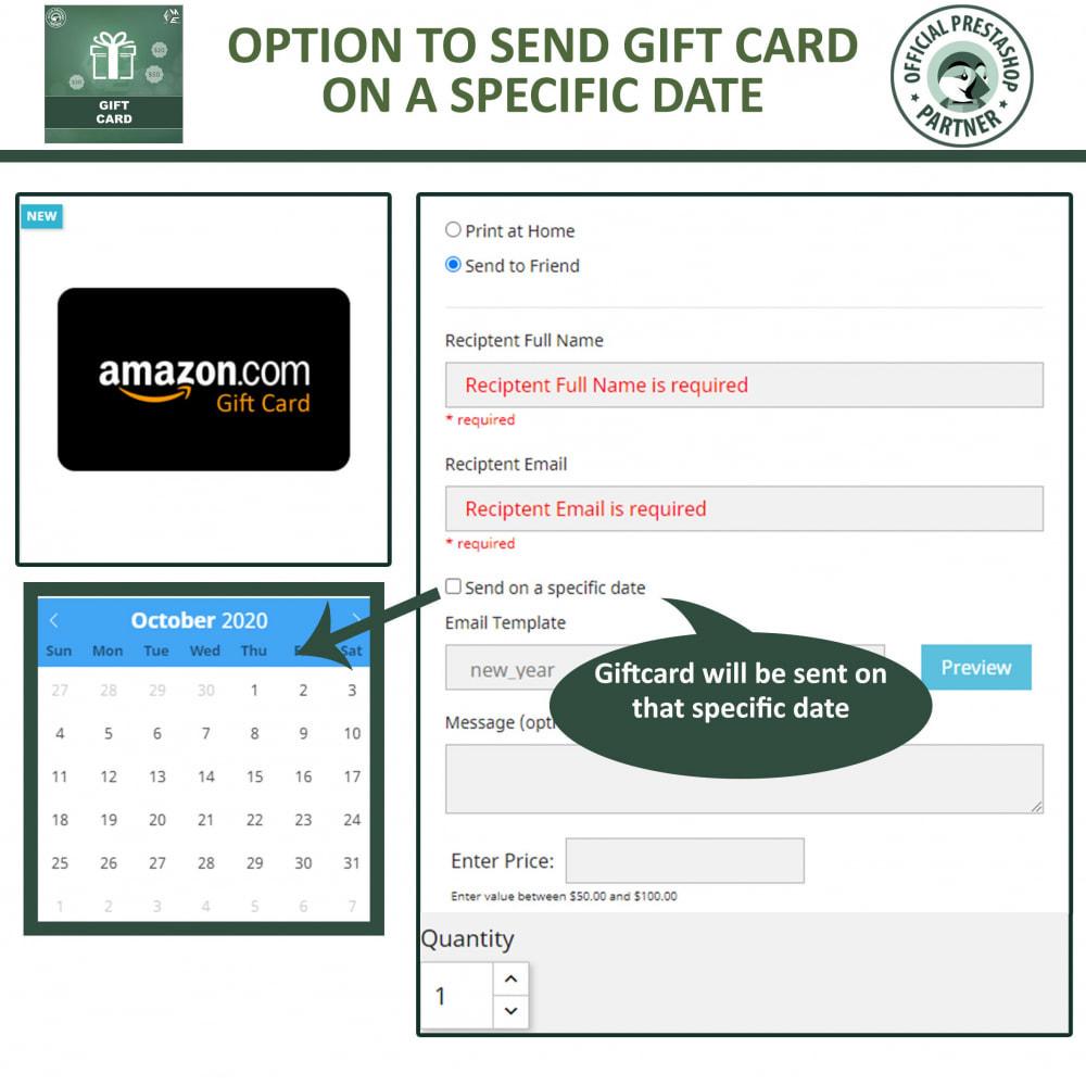 module - Lista de desejos & Vale-presente - Gift Card Module - Gift Card Certificates & Vouchers - 5