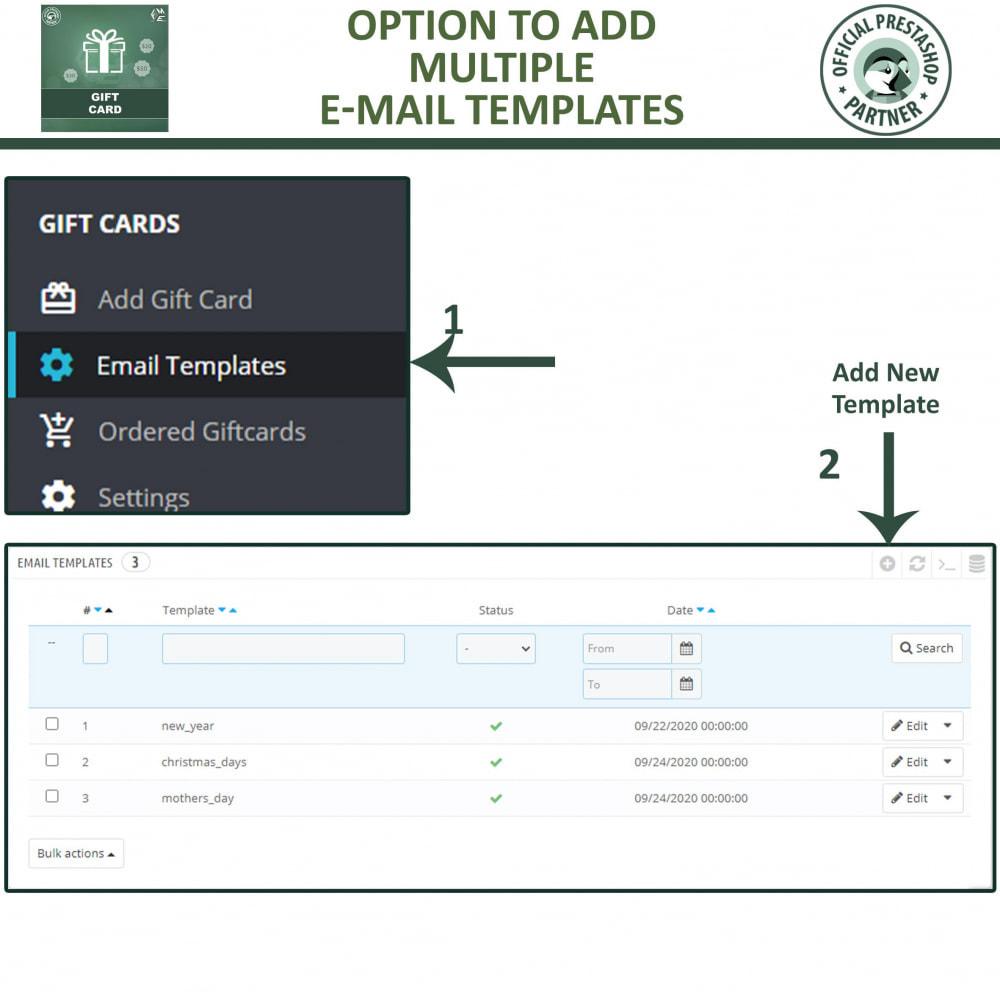 module - Lista de desejos & Vale-presente - Gift Card Module - Gift Card Certificates & Vouchers - 14