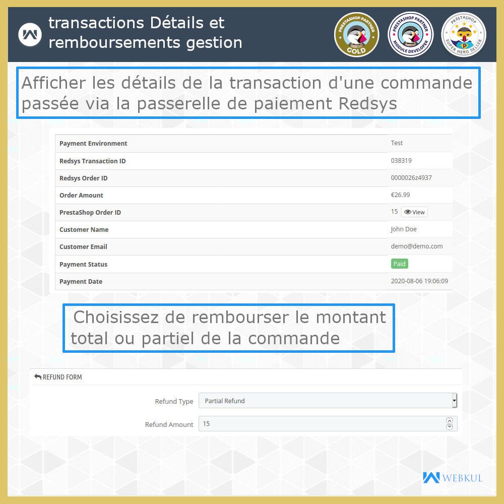 module - Paiement par Carte ou Wallet - Passerelle de paiement Redsys - 5