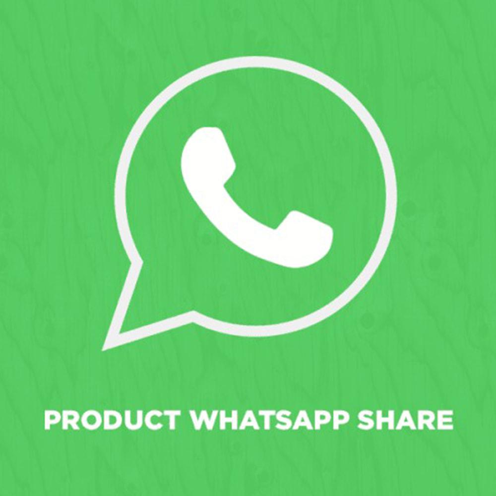 module - Compartir contenidos y Comentarios - Product WhatsApp Share - 1