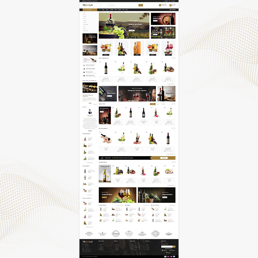 theme - Bebidas & Tabaco - Tequila Best Wine - The Wine Super Store - 2