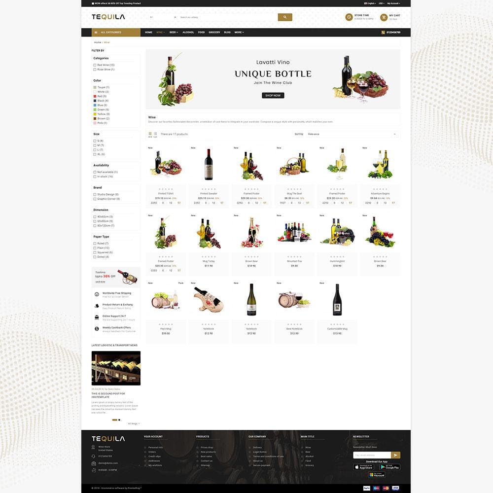 theme - Bebidas & Tabaco - Tequila Best Wine - The Wine Super Store - 3