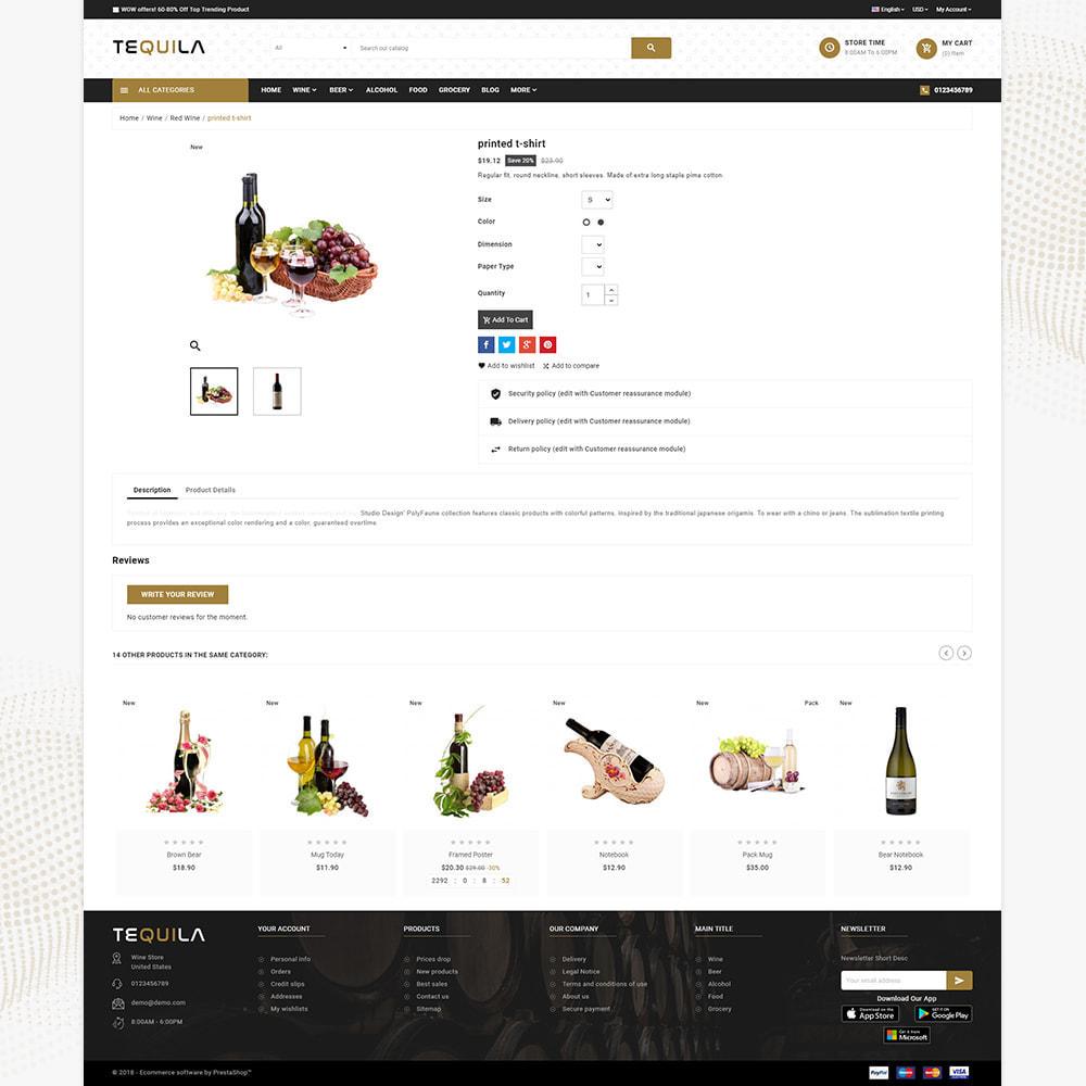theme - Bebidas & Tabaco - Tequila Best Wine - The Wine Super Store - 4
