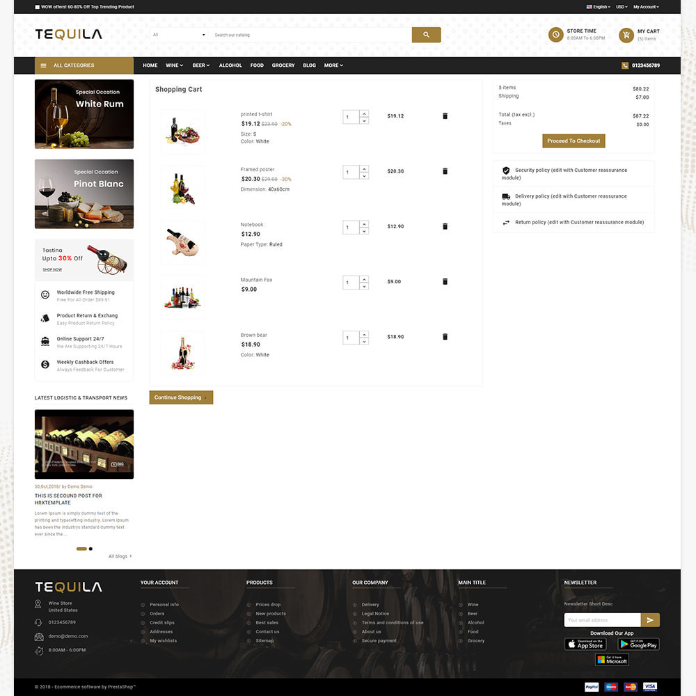 theme - Bebidas & Tabaco - Tequila Best Wine - The Wine Super Store - 5