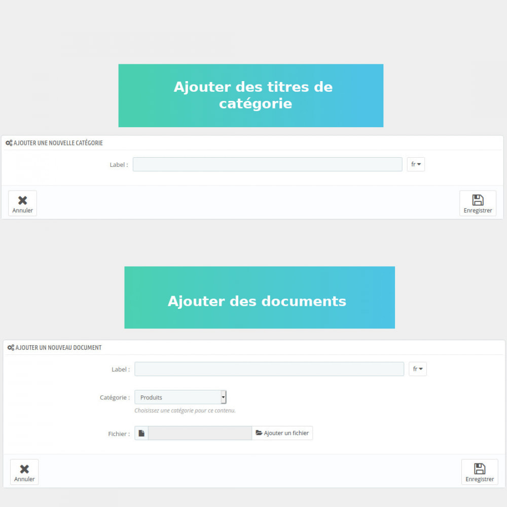 module - Gestion des clients - Gestion de documents privés - 3