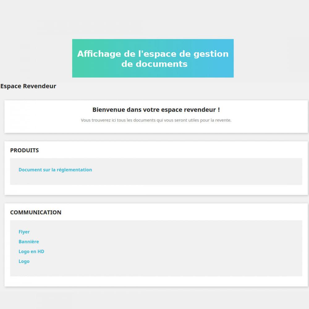 module - Gestion des clients - Gestion de documents privés - 5