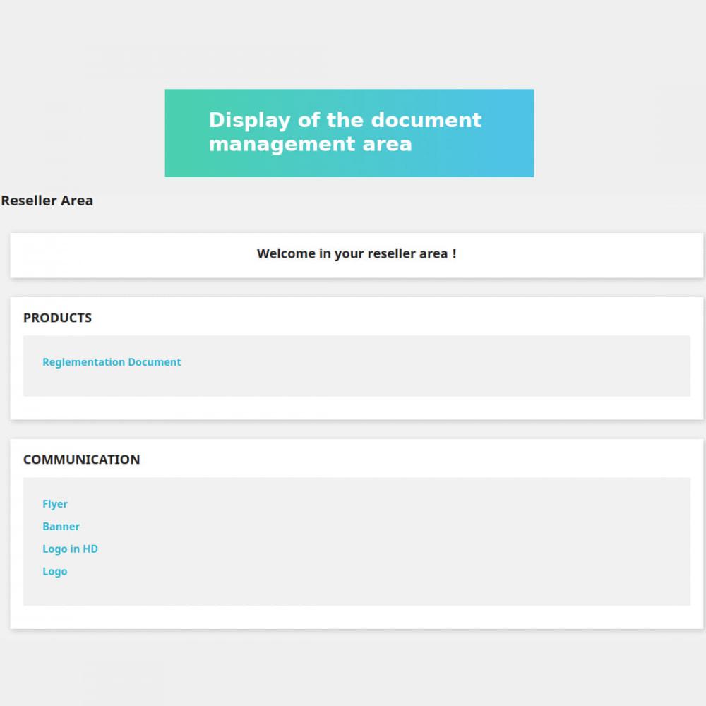 module - Kundenverwaltung - Private Document Management - 5