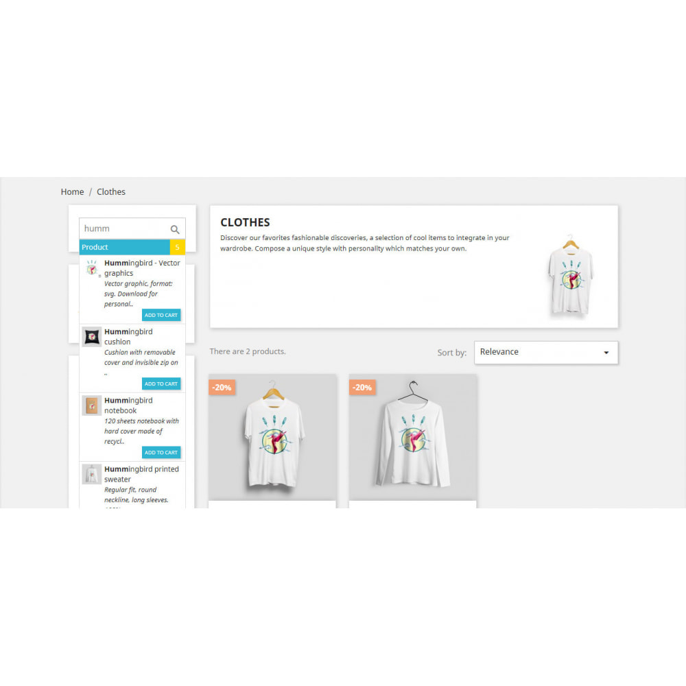 module - Marques & Fabricants - Instant Search | Auto Complete | Quick Search bar - 2