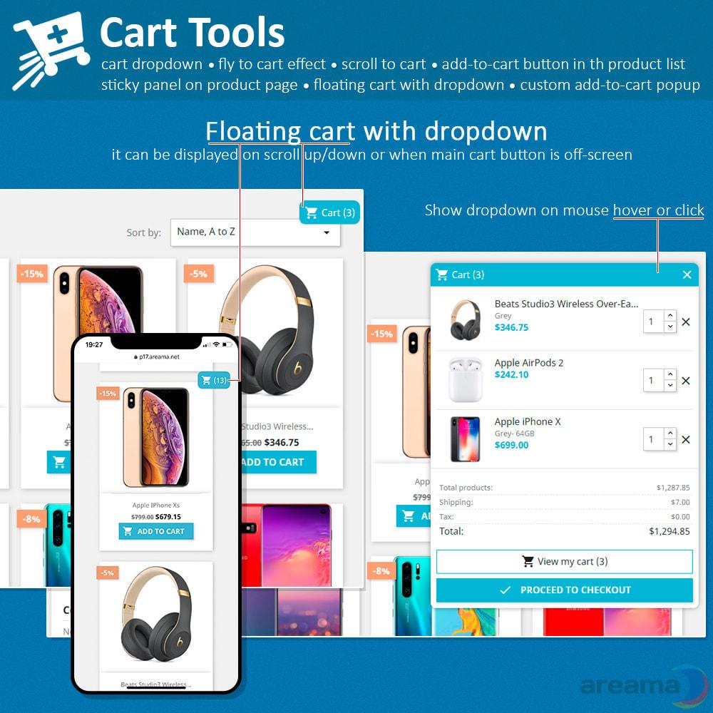 module - Pop-up - Cart Tools - cart dropdown, fly to cart, cart popup... - 9