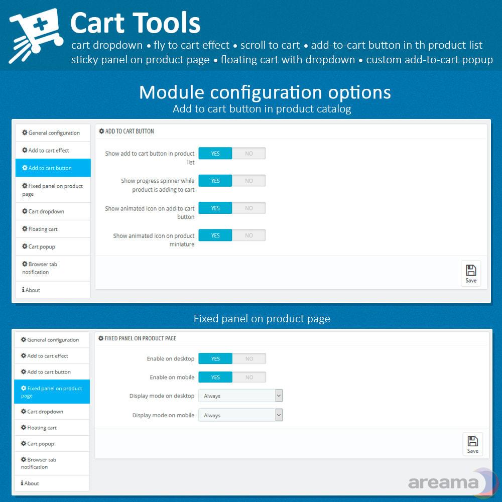 module - Pop-up - Cart Tools - cart dropdown, fly to cart, cart popup... - 15