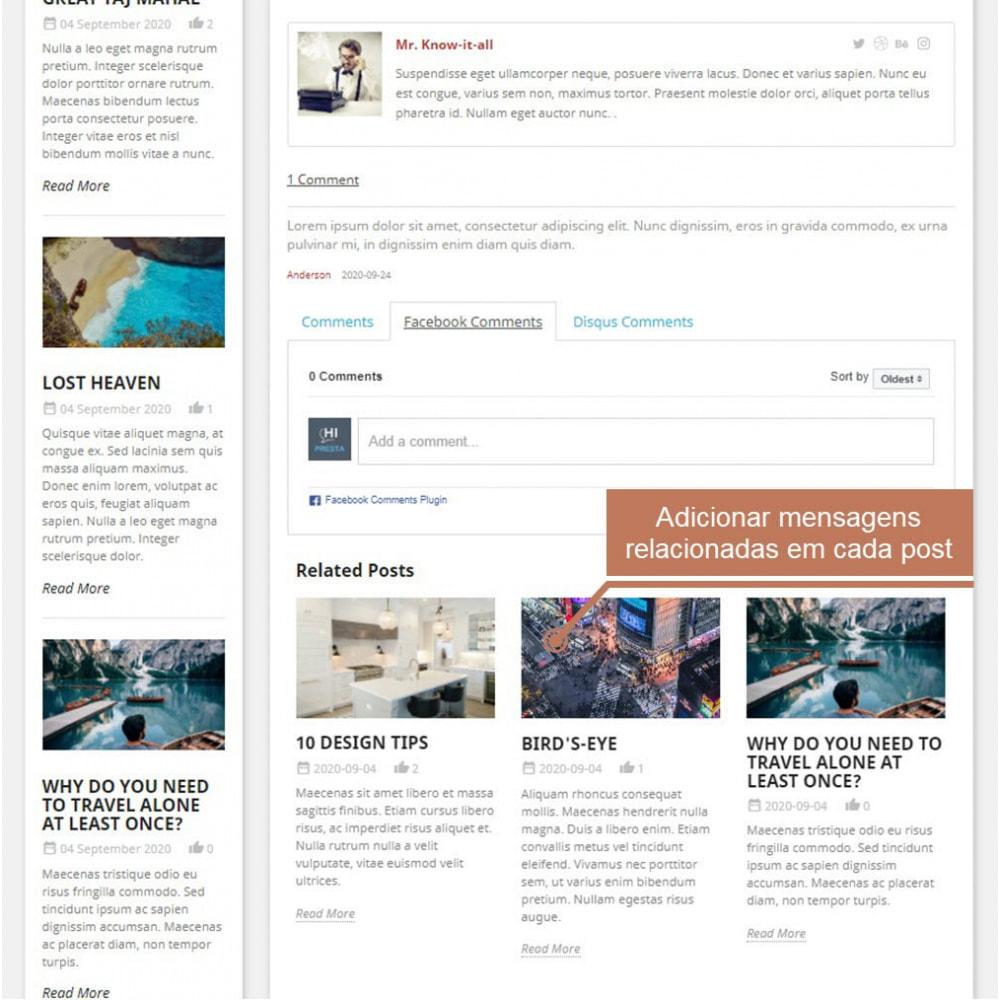 module - Blog, Fórum & Notícias - Business Blog Pro - 10