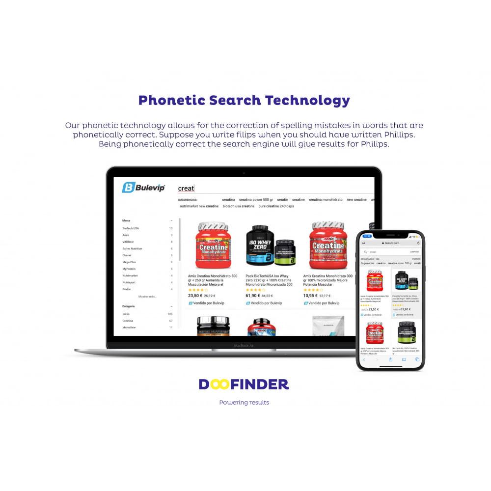module - Recherche & Filtres - Doofinder Search - 1