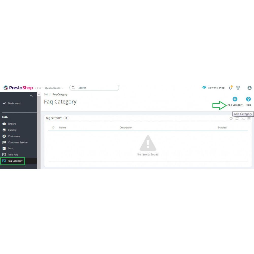 module - FAQ (Domande Frequenti) - Advance FAQ Module - 9