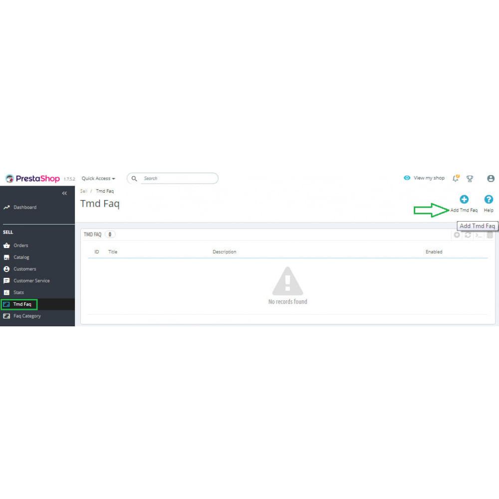 module - FAQ (Domande Frequenti) - Advance FAQ Module - 12