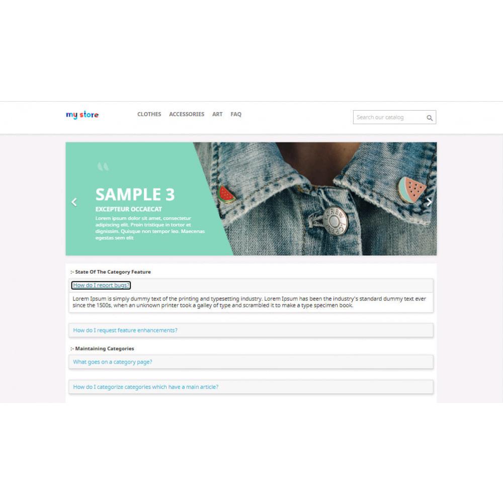 module - FAQ (Domande Frequenti) - Advance FAQ Module - 24