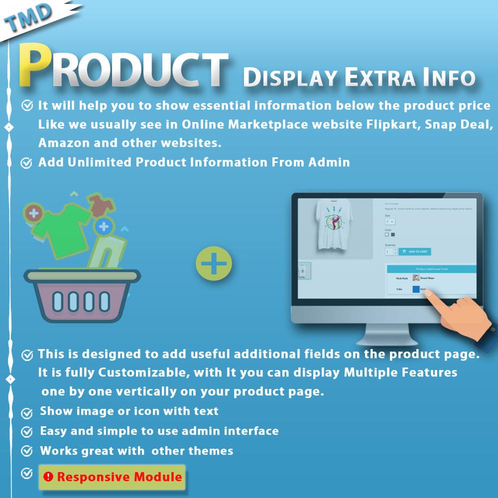 module - Dodatkowe informacje & Zakładka produktu - Additional Product Info Fields - 1