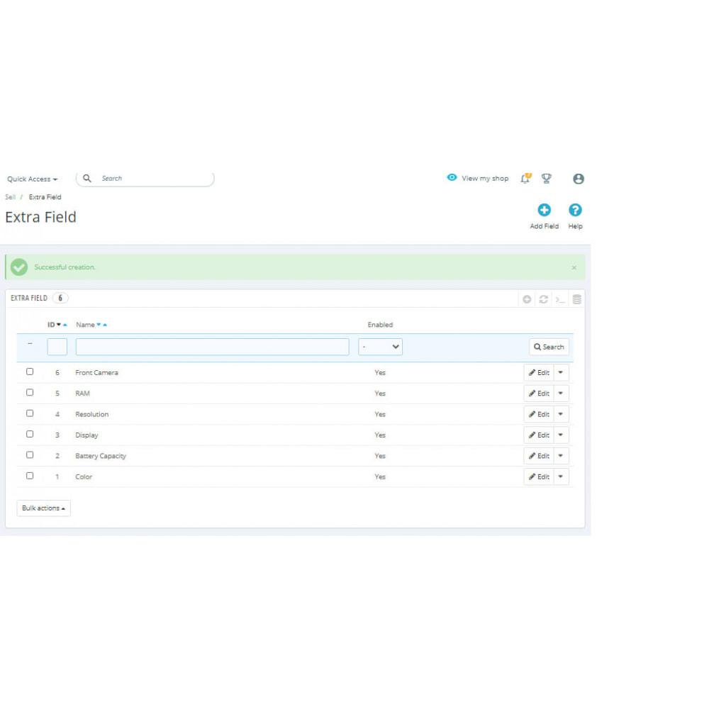 module - Dodatkowe informacje & Zakładka produktu - Additional Product Info Fields - 11