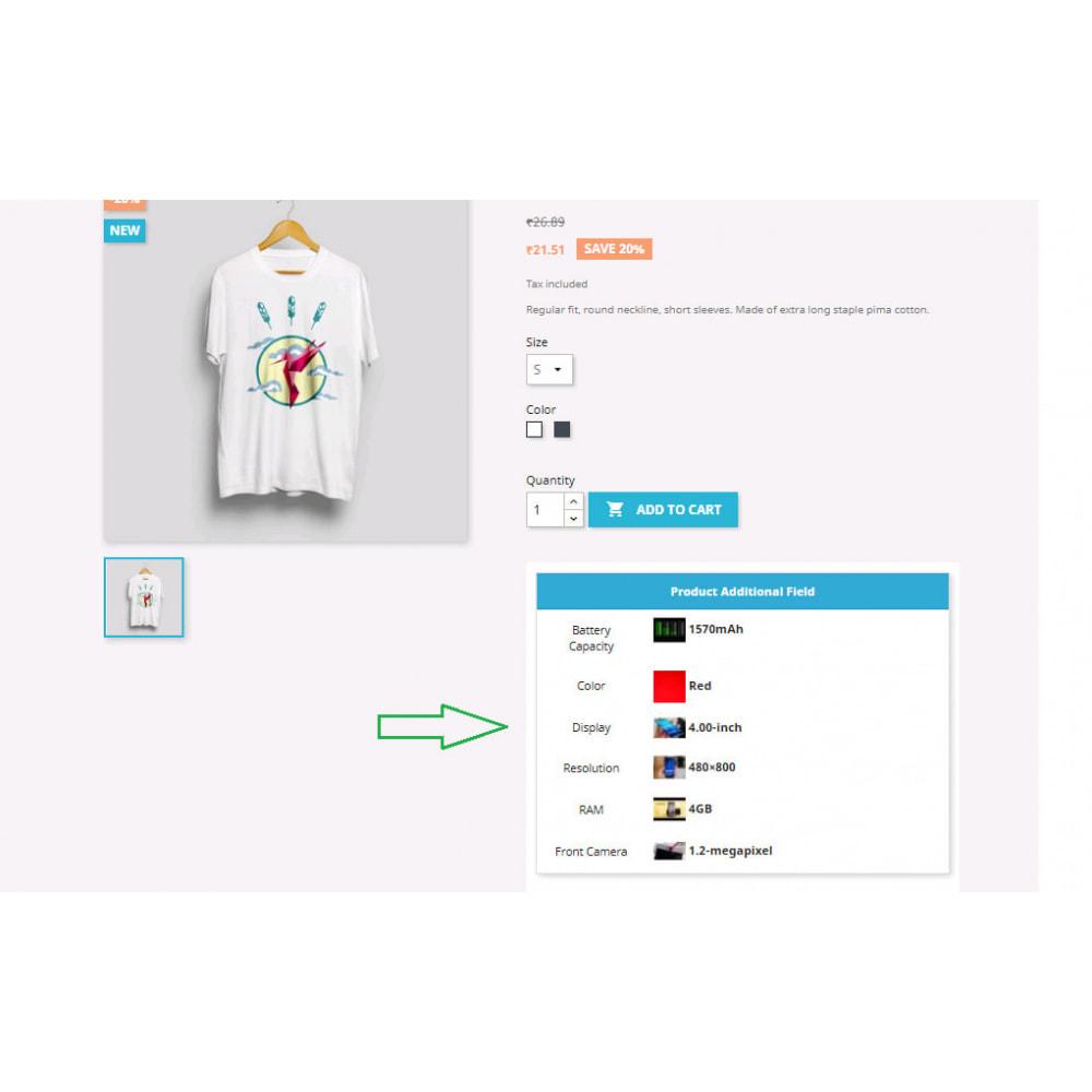 module - Dodatkowe informacje & Zakładka produktu - Additional Product Info Fields - 18