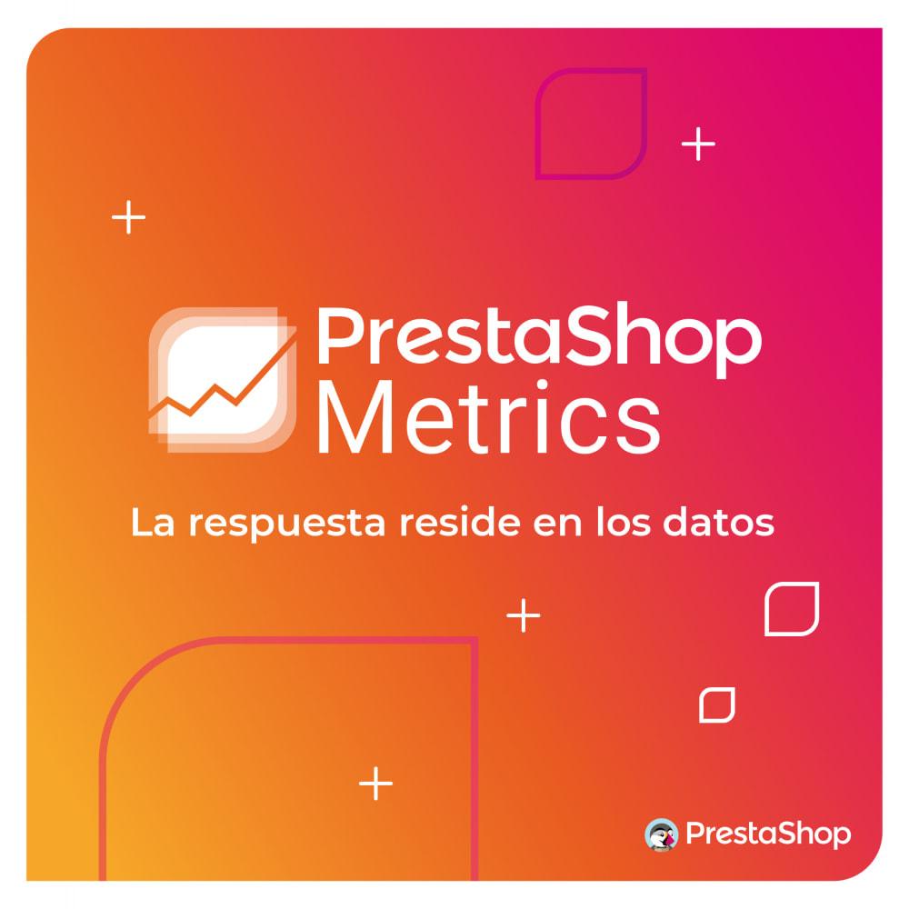 module - Informes y Estadísticas - PrestaShop Metrics - 1