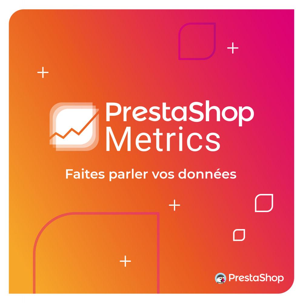 module - Analyses & Statistiques - PrestaShop Metrics - 1