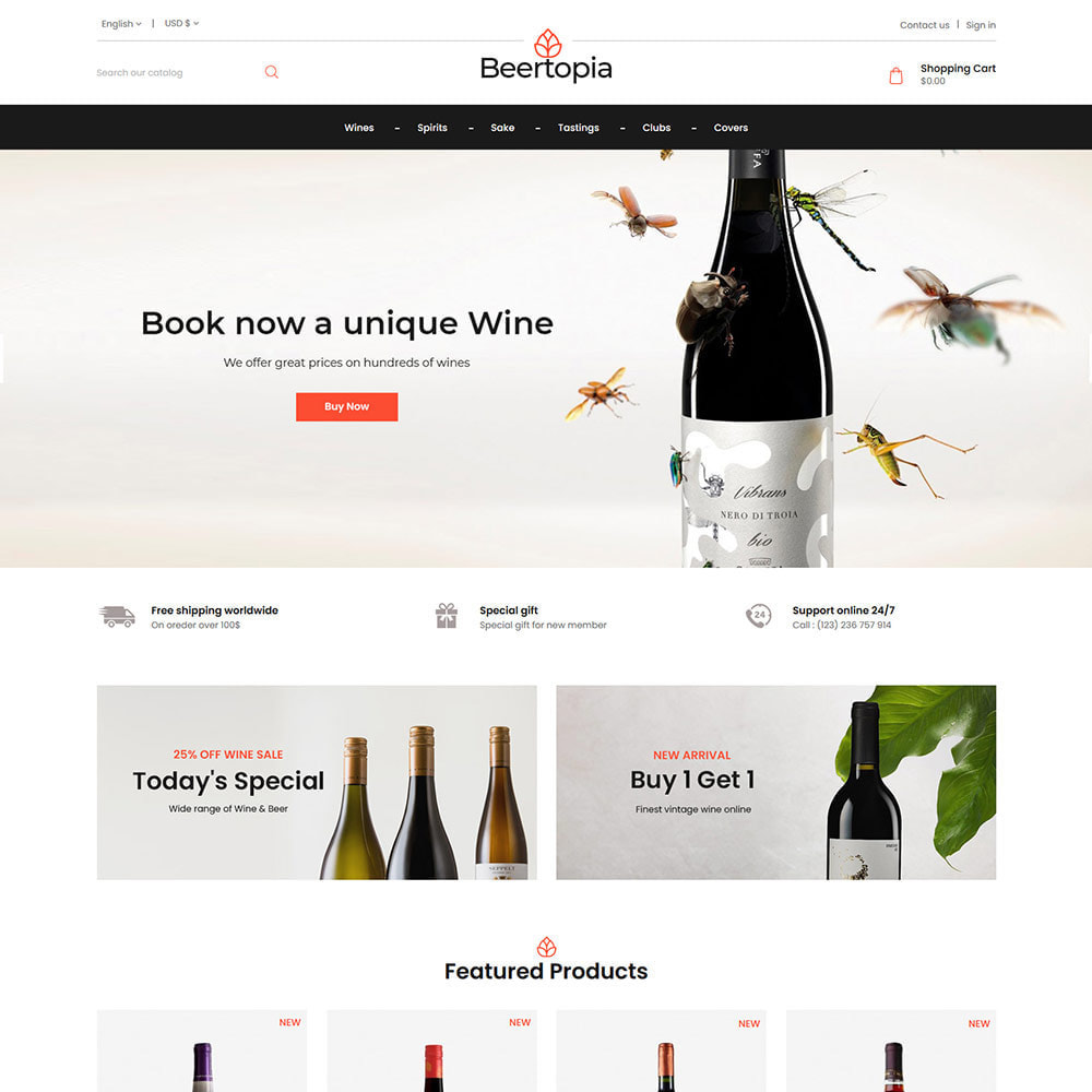 theme - Drink & Tobacco - Beertopia Alcohol - Best Wine Store - 1