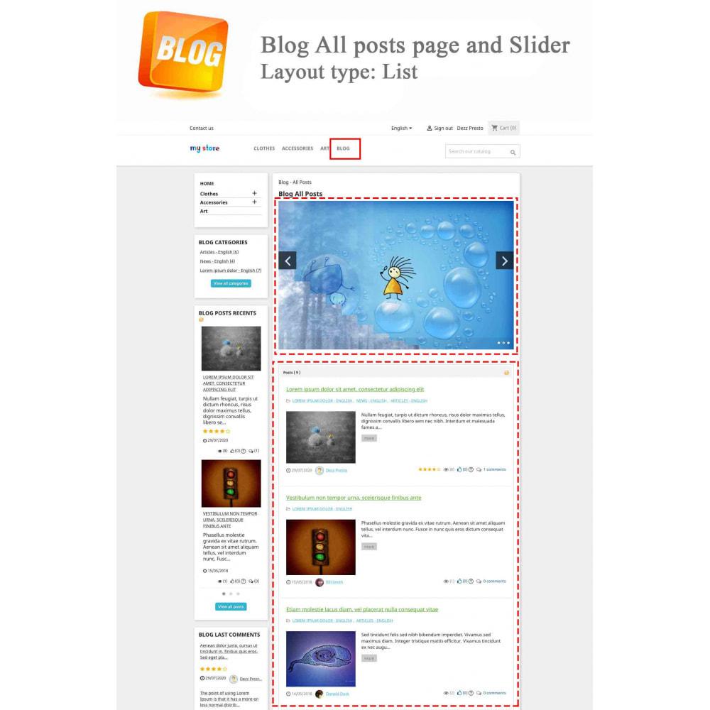 module - Блог, форумов и новостей - Blog PRO + Loyalty Program - 1