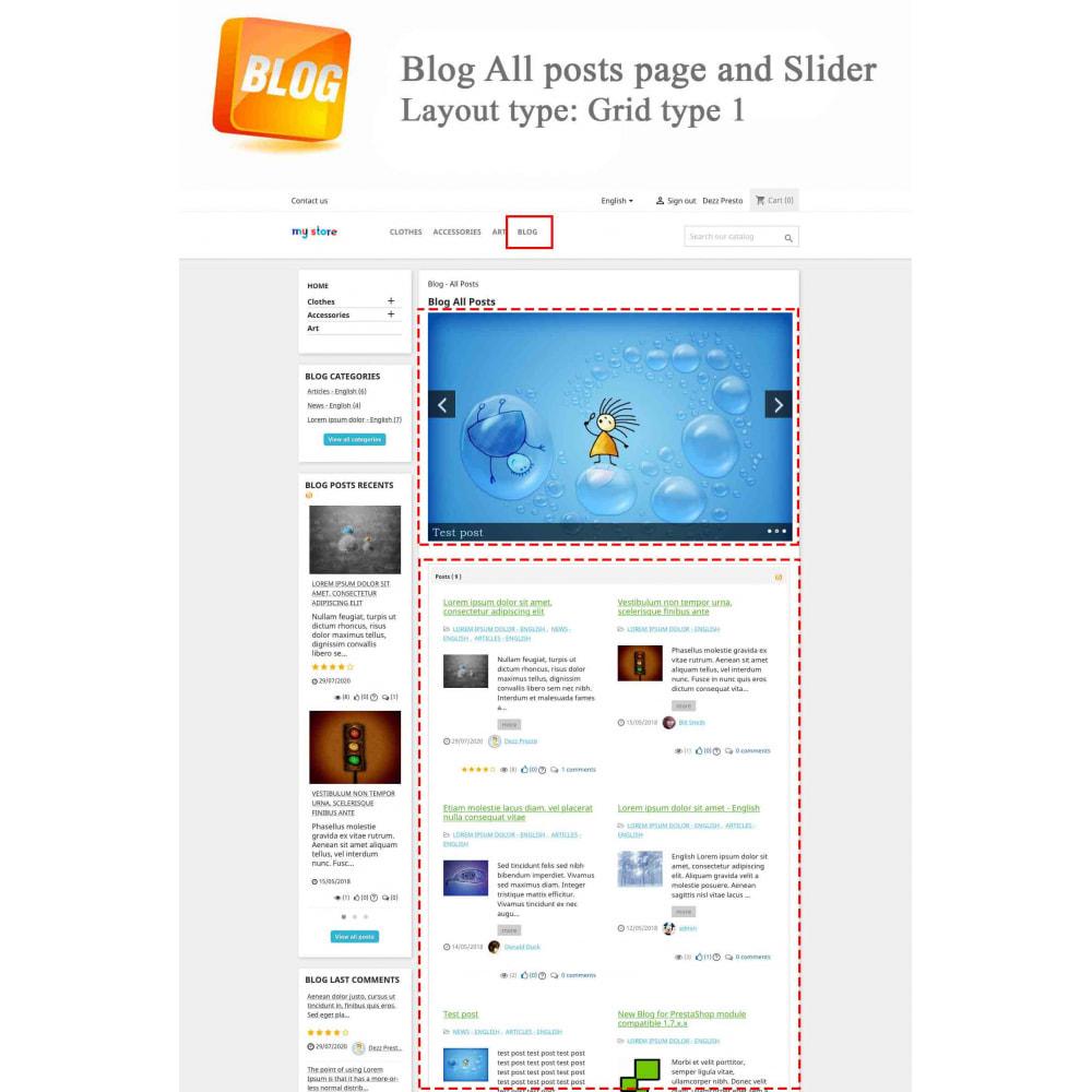 module - Блог, форумов и новостей - Blog PRO + Loyalty Program - 2