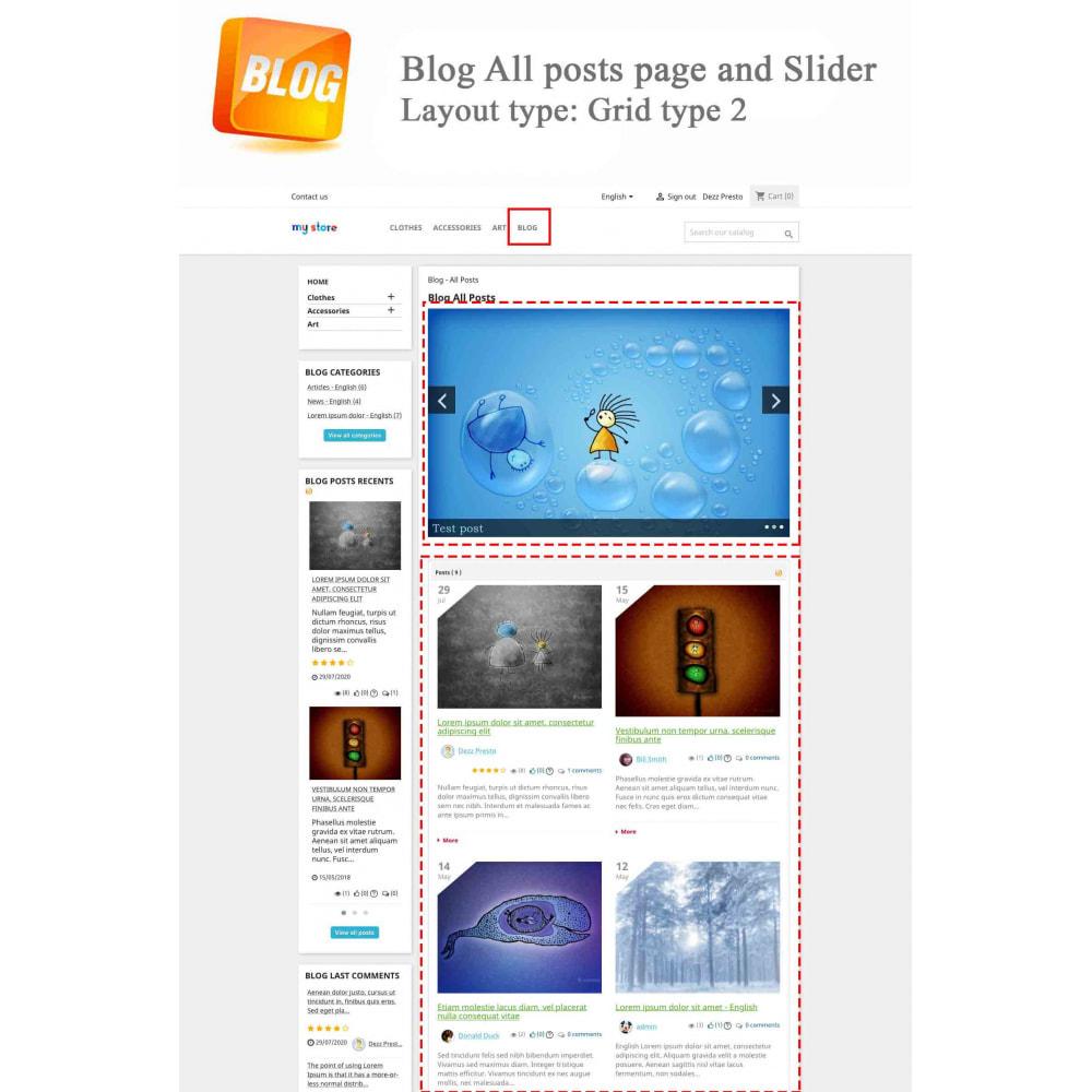module - Блог, форумов и новостей - Blog PRO + Loyalty Program - 3