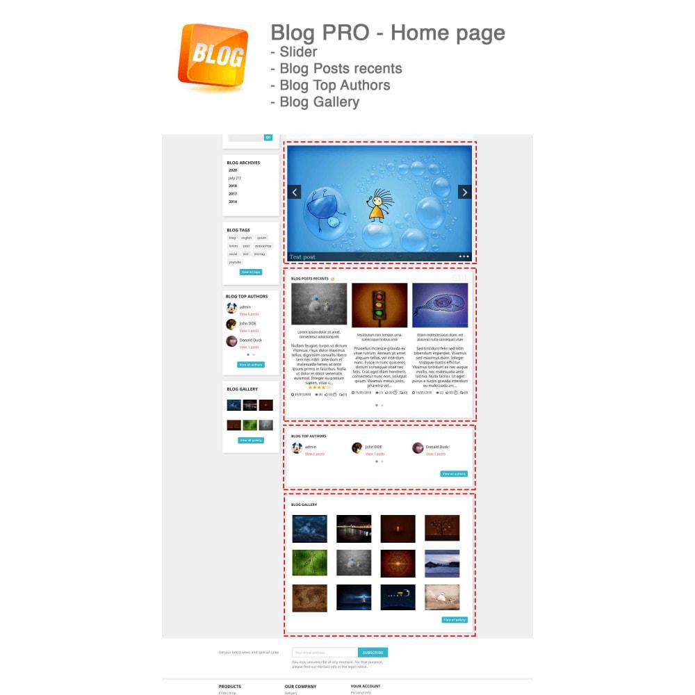 module - Блог, форумов и новостей - Blog PRO + Loyalty Program - 4