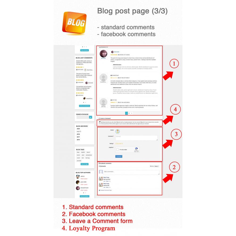 module - Блог, форумов и новостей - Blog PRO + Loyalty Program - 7