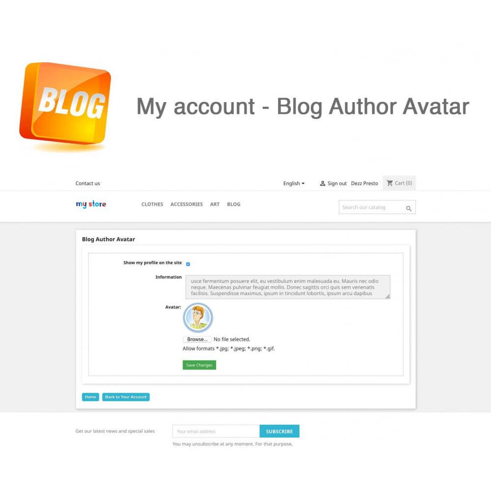 module - Блог, форумов и новостей - Blog PRO + Loyalty Program - 14