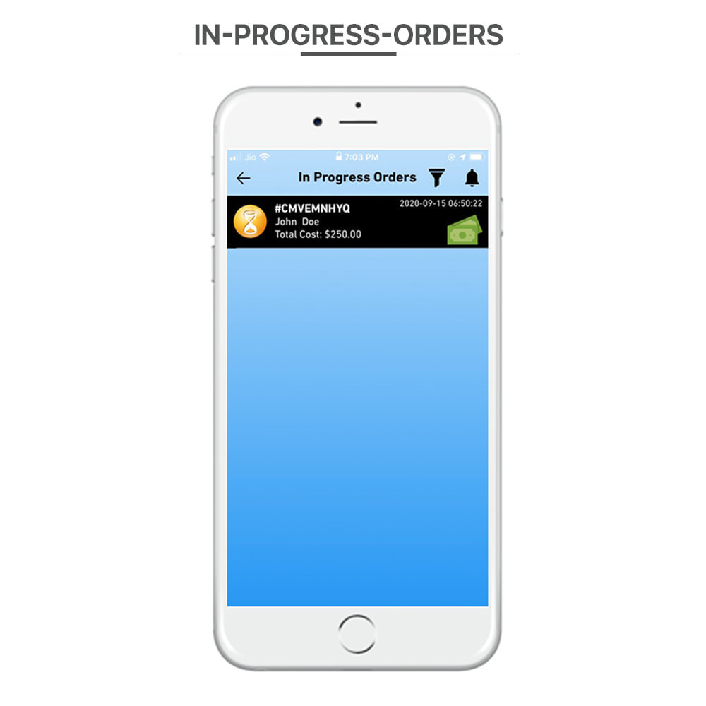 module - Data de entrega - Knowband - Delivery Boy Mobile App for iOS & Android - 6