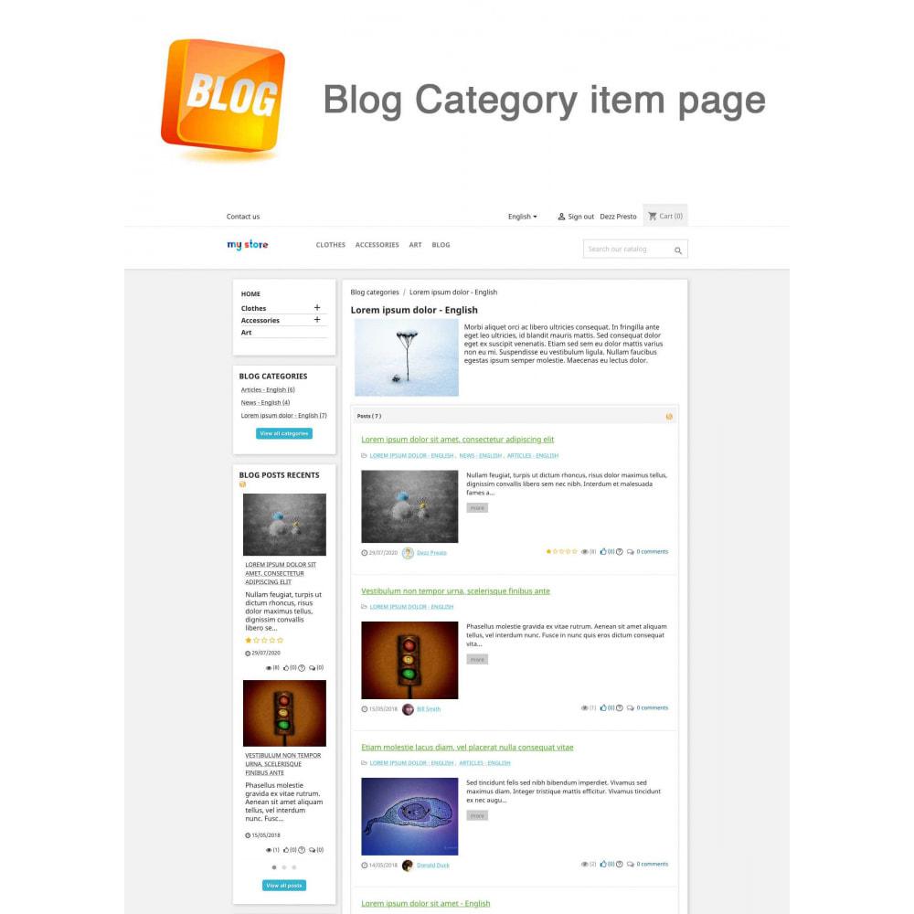 module - Блог, форумов и новостей - Blog PRO + Loyalty Program - 17