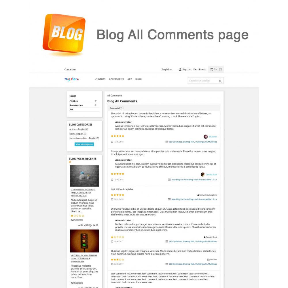 module - Блог, форумов и новостей - Blog PRO + Loyalty Program - 18