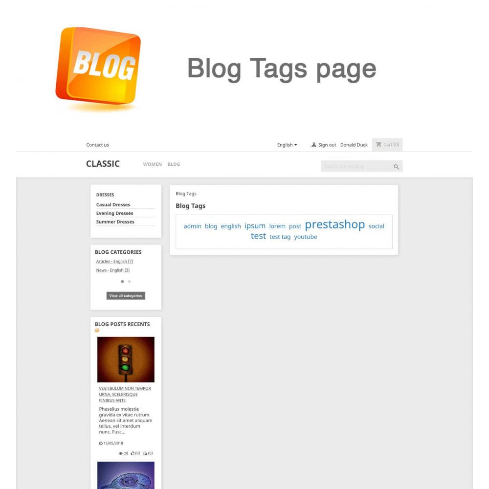 module - Блог, форумов и новостей - Blog PRO + Loyalty Program - 19