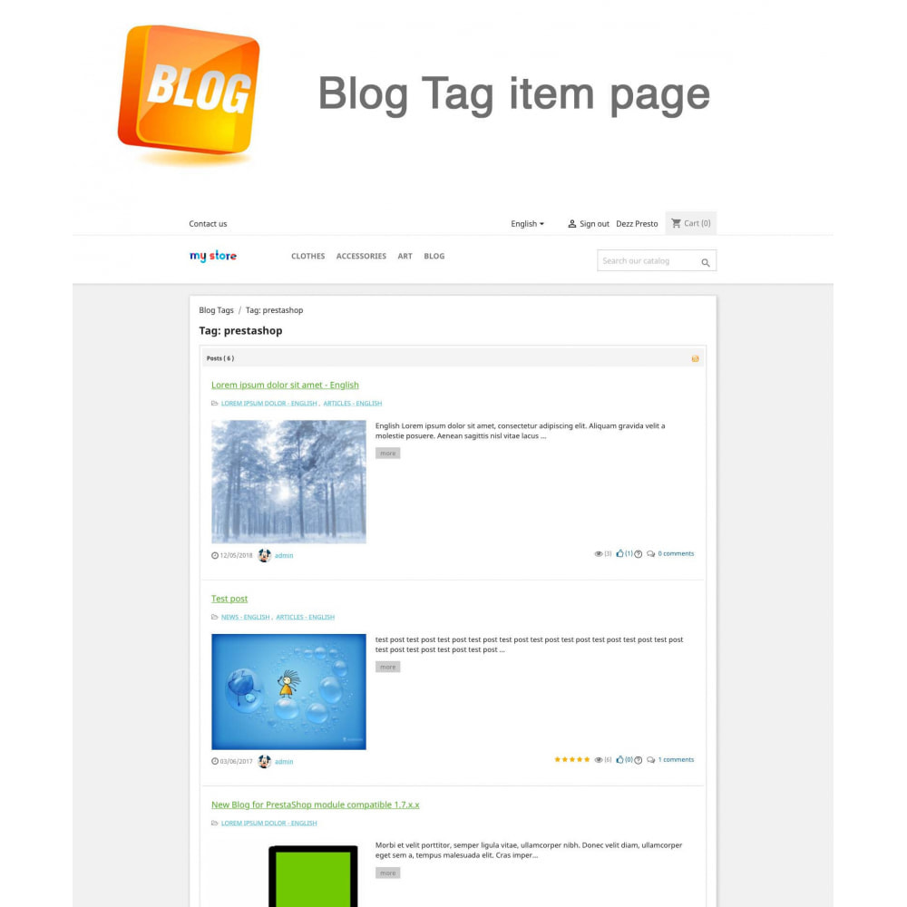 module - Блог, форумов и новостей - Blog PRO + Loyalty Program - 20