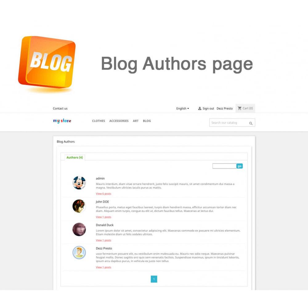 module - Блог, форумов и новостей - Blog PRO + Loyalty Program - 21
