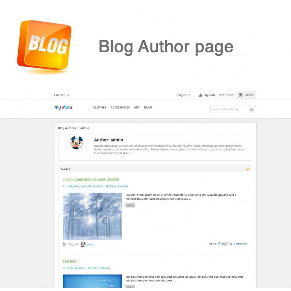 module - Блог, форумов и новостей - Blog PRO + Loyalty Program - 22