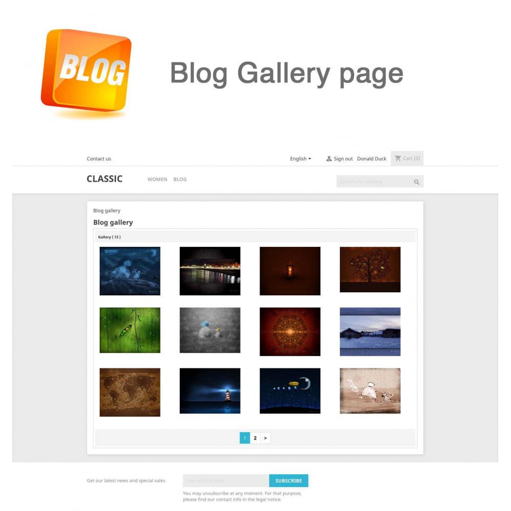 module - Блог, форумов и новостей - Blog PRO + Loyalty Program - 23