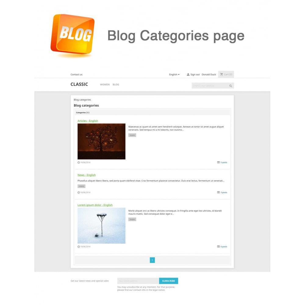 module - Blog, Forum & Actualités - Blog PRO + Programme de fidélité - 16
