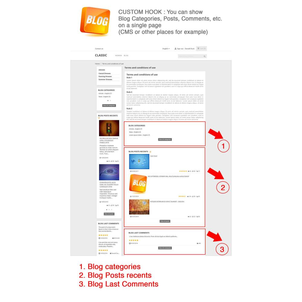 module - Блог, форумов и новостей - Blog PRO + Loyalty Program - 26