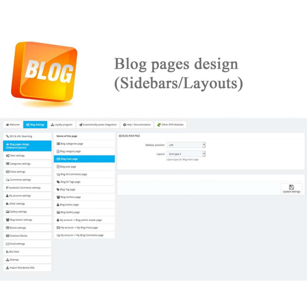 module - Блог, форумов и новостей - Blog PRO + Loyalty Program - 33
